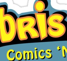 Hubris Comics and Toys Sticker