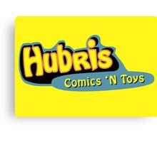 Hubris Comics and Toys Canvas Print
