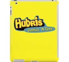 Hubris Comics and Toys iPad Case/Skin