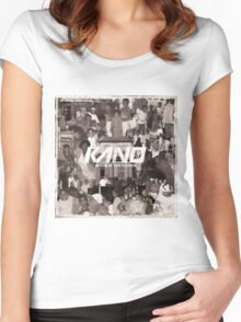 Kano - Made In The Manor Women's Fitted Scoop T-Shirt