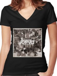 Kano - Made In The Manor Women's Fitted V-Neck T-Shirt