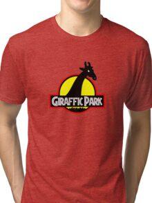 Giraffic Park Tri-blend T-Shirt