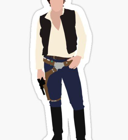 Han Solo 1 Sticker