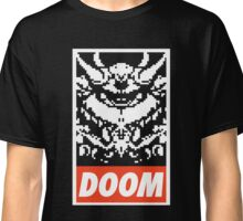 DOOM (OBEY Parody) - Black Shirt Version Classic T-Shirt