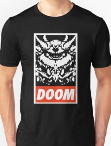 DOOM (OBEY Parody) - Black Shirt Version Unisex T-Shirt