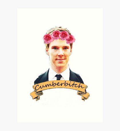 Cumberbitch shirt Art Print