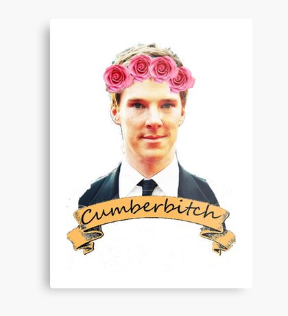 Cumberbitch shirt Metal Print