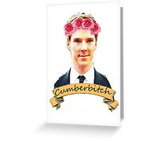 Cumberbitch shirt Greeting Card