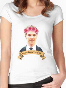 Cumberbitch shirt Women's Fitted Scoop T-Shirt