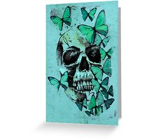 Butterfly Bones Greeting Card