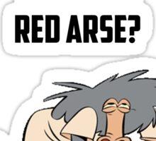 Red Arse Tee Sticker