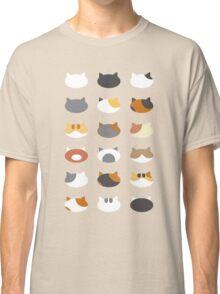 Row of Cats - Neko Atsume Classic T-Shirt