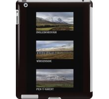 3 Highest Peaks Of The Yorkshire Dales iPad Case/Skin