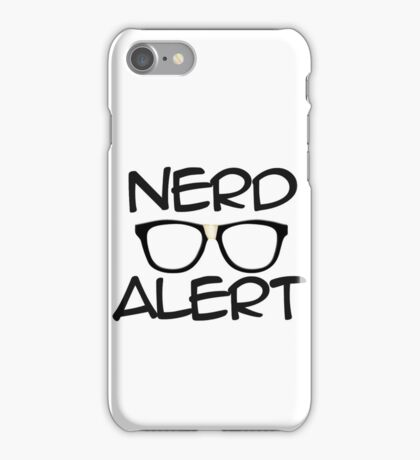 Nerd Alert iPhone Case/Skin