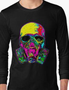 Toxic skull Long Sleeve T-Shirt