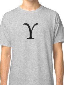 Upsilon Greek Letter Classic T-Shirt