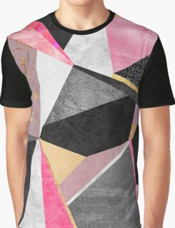 Geometry / Pink Graphic T-Shirt