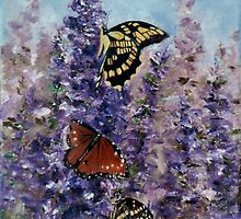 Butterfly Garden by Brenda Thour