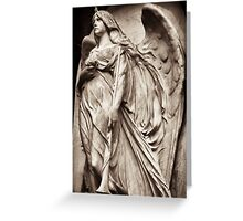 angel & winds of time  Greeting Card