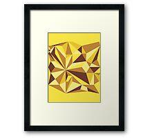 Pineapple Explosion Framed Print