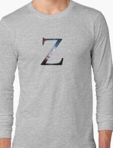 Zeta Greek Letter Long Sleeve T-Shirt