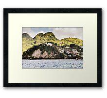Saint Lucia Framed Print