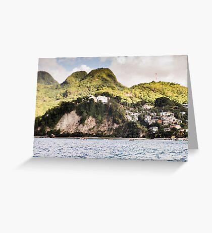 Saint Lucia Greeting Card