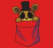 Golden Freddy in my Pocket Baby Tee