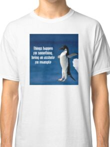 Wise penguin Classic T-Shirt