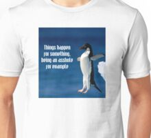 Wise penguin Unisex T-Shirt