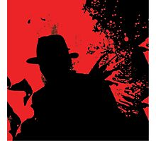 Icons of Horror - Freddy Photographic Print