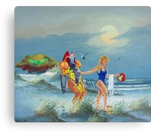 Samus need to relax Canvas Print
