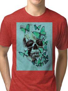 Butterfly Bones Tri-blend T-Shirt