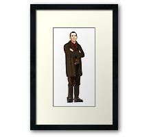 Regenerated 9th Doctor Framed Print