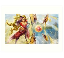 Irelia Vs. One Piece Art Print