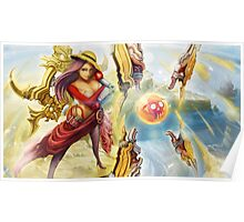 Irelia Vs. One Piece Poster