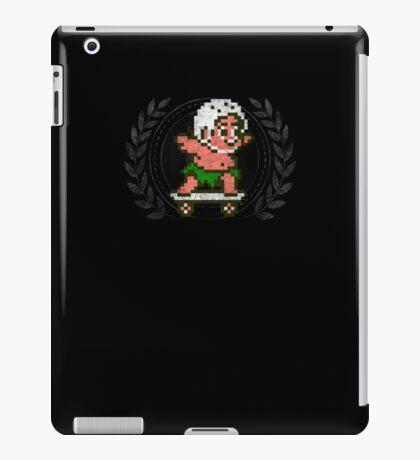 Master Higgins - Sprite Badge iPad Case/Skin