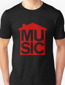 Red Home Music T-Shirt