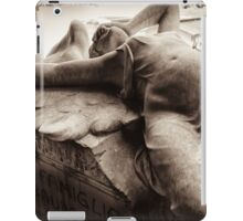 swooning angel iPad Case/Skin