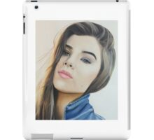 hailee colored pencil iPad Case/Skin