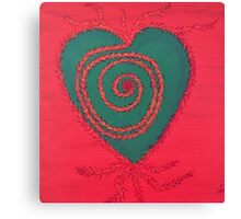 Rooted Heart Chakra Canvas Print