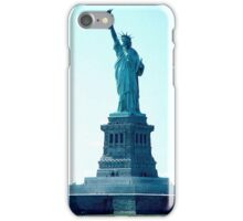 Statue de la liberté iPhone Case/Skin
