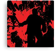 Icons of Horror - Jason Canvas Print