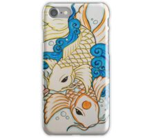 Traditional koi fish. iPhone Case/Skin