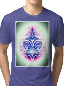 Rippled Spine Tri-blend T-Shirt