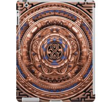 Aztec Time Travel Pendant Medallion iPad Case/Skin