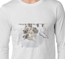 Just having fun - Timber Wolves  Long Sleeve T-Shirt