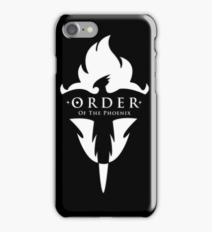 ORDER Of The Phoenix White iPhone Case/Skin