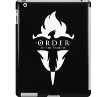 ORDER Of The Phoenix White iPad Case/Skin
