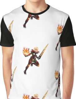 red armor girl Graphic T-Shirt